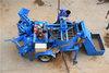 Hydraulic compressed earth block machine