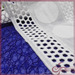 Geometric 100% cotton plain embrodiery lace fabric