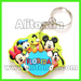 Promotional keychains custom 2d 3d key chains manufacturer