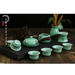 4.5 inch Chinese Style Ceramic Rice Bowl Longquan Celadon