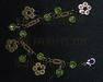 Fashion jewellery, necklace set, bracelet, www. ffcrafts. com