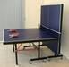 Folding table tennis table as-205 square leg 100mm wheels stonger