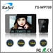 7 inch 2.4GHz apartment wireless video door phone intercom system