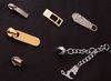 Metal Tags, Plates, Buckles, Studs, Screws, Zipper, Zipper pull, Hooks
