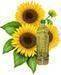 Crude and refined suflower-seed oil