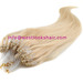 Micro loop ring hair extensions