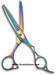 PVD Titanium Plasma Coated Barber Scissors
