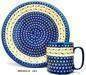 Polish Stamped Pottery