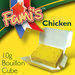 Fami's Chicken bouillon cube, broth cube, stock cube, instant soup