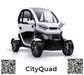 3000W Power Adult Mini Electric Car 4 Wheel