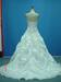 Strapless Nice Beaded Sweethearted Neckline Taffeta Wedding Dreses