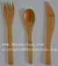 Bamboo disposable tableware and kitchen cooking utensils
