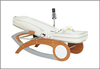 Physical therapy infrared therapy heating jade massage bed with music