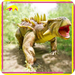 Amusement Park Highly Detailed Animatronic Fake Dinosaur
