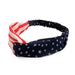 Stylish Soft Cotton Women Elastic Cross Headband