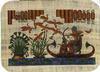 Egyptian calendar, costar, egyptian papyrus, bag, mouse pad