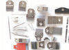 Solenoids, needles and jacks, selectors for knitting machines