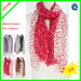 Ladies 100% polyester fashion scarf with polka dot pattern 180*90CM