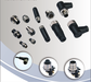 IEC (6094-5-2) waterproof M12 circular connector