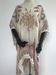Paisley printed woven poncho