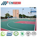 High Performance Silicon PU Sports Court Flooring
