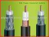 Coaxial cable RG59, 22AWG BC conductor