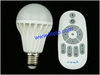2.4G wireless remote control brightness dimmable led bulb