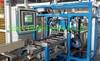 Automatic compact busbar assembly line, sandwich busbar fabrication ma