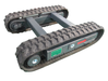 Steel/Rubber Track Undercarriage / Track chassis