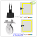 Led window trick light with 360degree