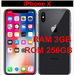 10pcs   798usd/pwholesale  new iphone x 256gb unlocked with warranty
