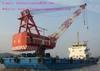 Cheap sell used floating crane (crane barge) 100t 150t 200t 300t-5000t