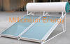 Direct thermosiphon solar water heater with flat solar collector