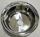 Russian Ukraine round shape stainless steel kitchen sink