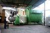 Rotational molding machine for water tank making in plastic