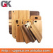 Wood case for mobile phone