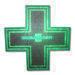 LED Pharmacy Cross Display