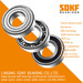 SDKF 6206-2RS-ZZ Metal Shielded Seal Deep Groove Ball Bearing 30x62x16