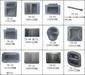 Speaker parts-handle, horn, cabinet, junction box, echo tube, corner