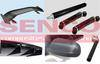 Carbon fiber tube rods plate