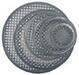 Speaker grille, metal net sheet, steel grille