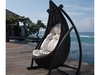 Poly rattan furniture/wicker table/chair