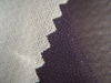 Fusible woven interlining for suits jackets and coats