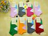 Slipper socks, argyle, cotton