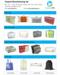 Plastic bedding packaging bag for pillow/duvet/blanket
