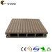 Wood look rubber flooring
