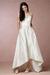 High-Low Wedding Dress Spaghetti Straps