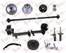 RV, Boat Triailer and Trailer Axle, Brake and Parts