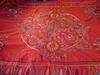 Decorative hand stitched bed spread.