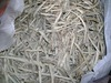 Peeled  althaea dried roots